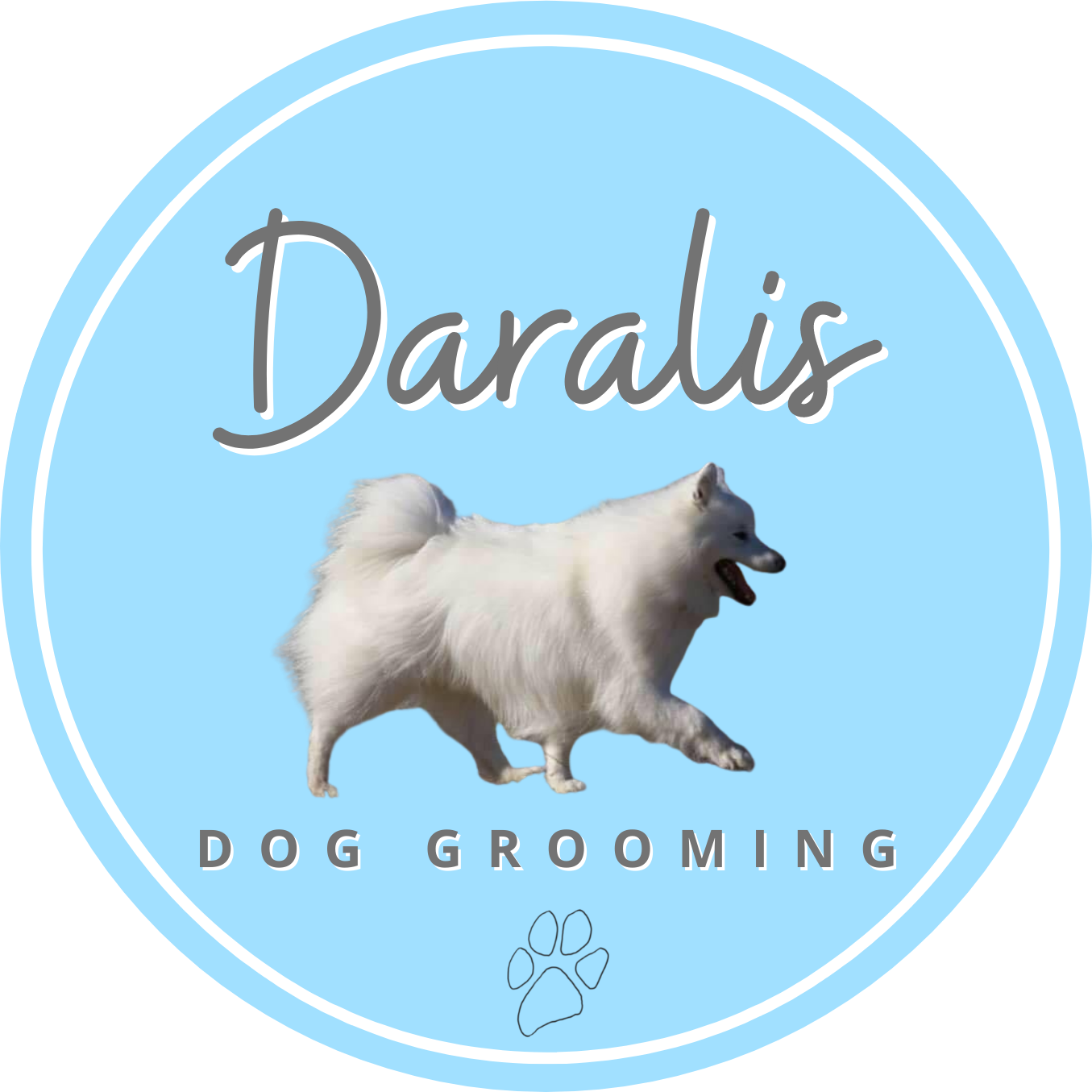Daralis Dog Grooming (the new name for Four Paws)